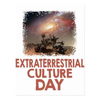 14 février - jour extraterrestre de culture cartes postales