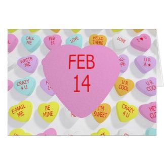 14 février sur le grand coeur pour une carte