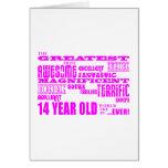 14èmes anniversaires de filles : Plus grands 14 an Cartes De Vœux