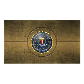 154 Edition spéciale de FBI Cartes De Visite Personnelles