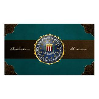 [154] Edition spéciale de FBI Carte De Visite