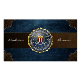 [154] Edition spéciale de FBI Cartes De Visite Personnelles