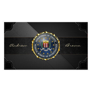 154 Edition spéciale de FBI Carte De Visite