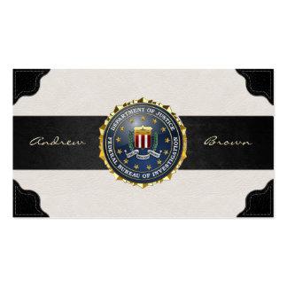 [154] Edition spéciale de FBI Cartes De Visite Professionnelles