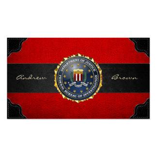 154 Edition spéciale de FBI Modèles De Cartes De Visite