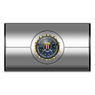 [154] Edition spéciale de FBI Carte De Visite Standard