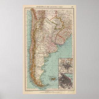 159 Argentine et Chili Posters