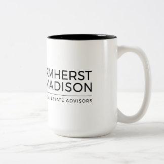 15 tasse de ton d'once Amherst Madison deux