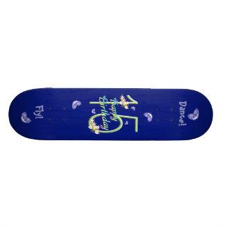 15ème Plate-forme de danse de papillon d'anniversa Skateboard 20 Cm