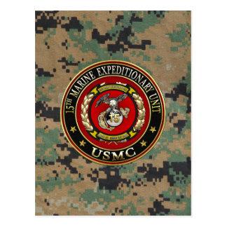 15ème Unité expéditionnaire marine (15ème MEU) Carte Postale
