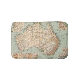 16667 Australie Tapis De Bain