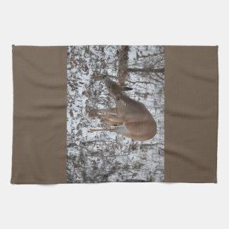 """16"""""""" cerfs communs Grignoter-Brown de serviette de"""