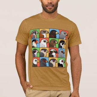 16 profils de Nord-américain Raptor T-shirt