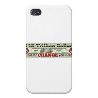 16 TRILLION DE DETTE NATIONALE ÉTUI iPhone 4/4S