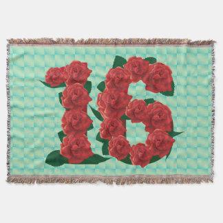 16ème couverture florale de roses rouges
