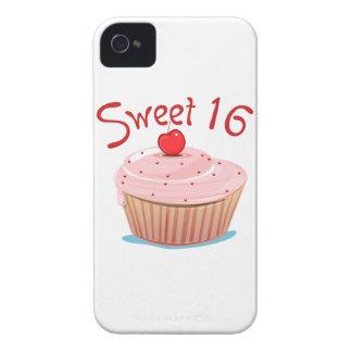 16ème petit gâteau d anniversaire du bonbon 16 coque iPhone 4 Case-Mate