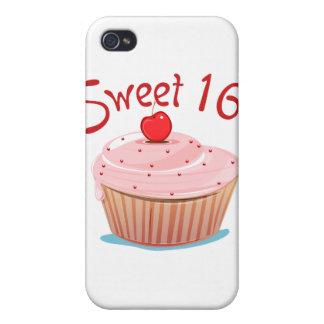 16ème petit gâteau d anniversaire du bonbon 16 étuis iPhone 4