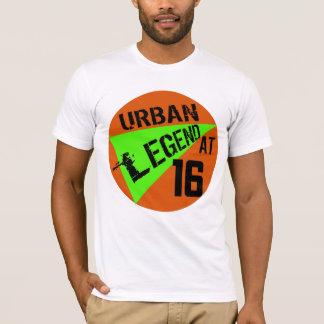 16ème T-shirt de cadeaux d'anniversaire