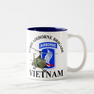 173RD Le Vietnam aéroporté Tasse 2 Couleurs