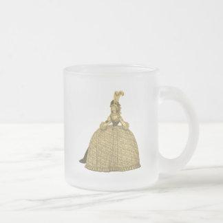 1794 robes vintages mug en verre givré