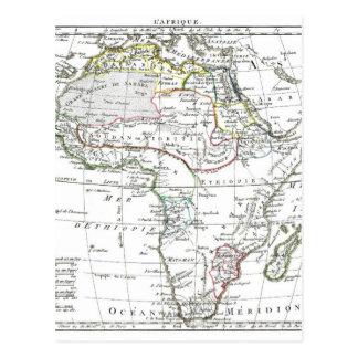 1806 carte - L'Afrique