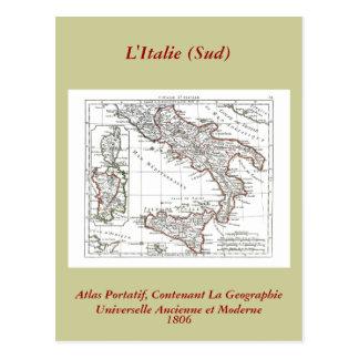 1806 carte - L'Italie (lessive)
