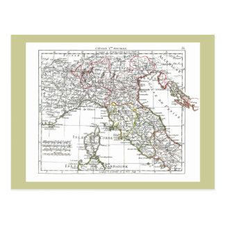 1806 carte - L'Italie (Nord)