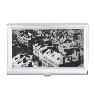 1859 : La ville de Boston, le Massachusetts Étui Pour Cartes De Visite