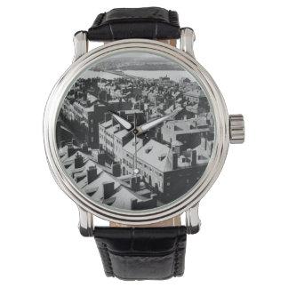 1859 : La ville de Boston, le Massachusetts Montres Bracelet
