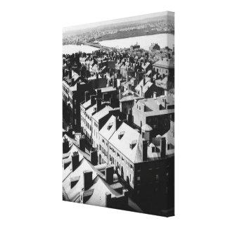 1859 : La ville de Boston, le Massachusetts Toiles