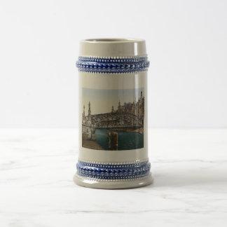 1890's de Hambourg vintage, Allemagne Chope À Bière