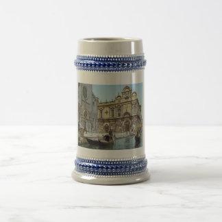 1890's vintages de Venise Chope À Bière