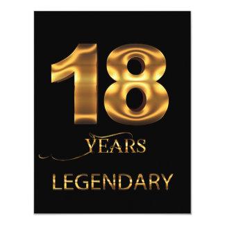 18 ans de carte légendaire