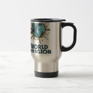 18 janvier - jour de religion du monde mug de voyage
