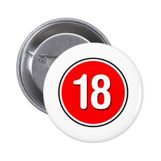 18 - Punk grunge alternatif de roche d Emo Badge