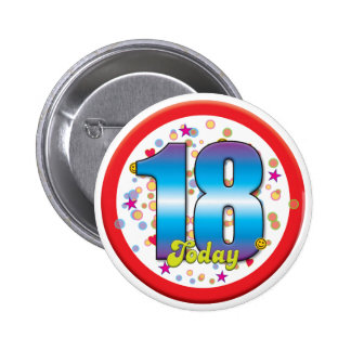 18ème Anniversaire aujourd'hui v2 Badge