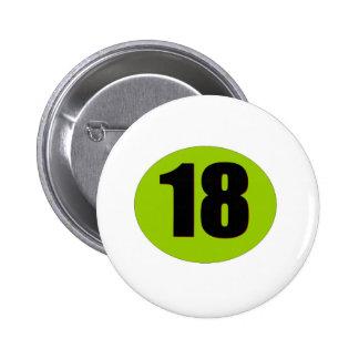 18ème Anniversaire Badge