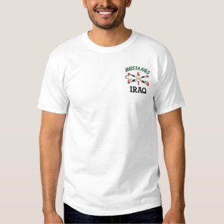18ème Chemise de sabres croisée par cavalerie T-shirt Brodé