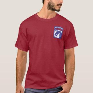 18ème T-shirts aéroporté de corps