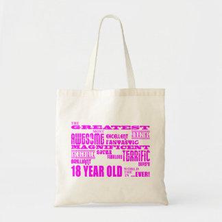 18èmes anniversaires de filles : Plus grands 18 Sacs Fourre-tout