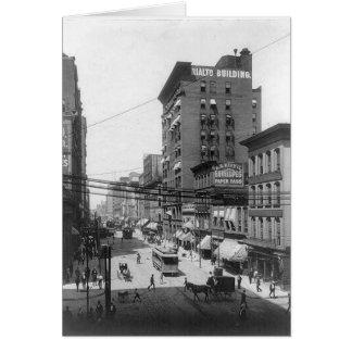 1903 4ème carte de voeux de St St Louis Missouri
