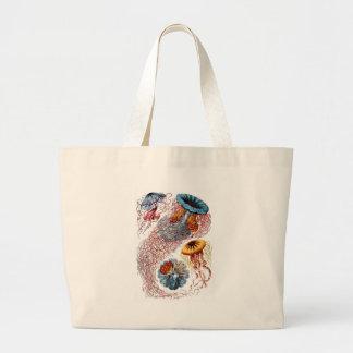 1904 formes d'art de méduses de copie de nature grand tote bag