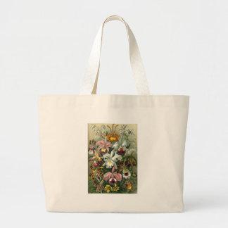 1904 formes d'art d'orchidées de copie de nature grand tote bag
