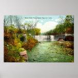 1908 automnes de Bronx River, parc de Bronx, New Y Affiches