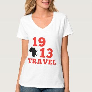 1913 voyages V - cou T-shirt