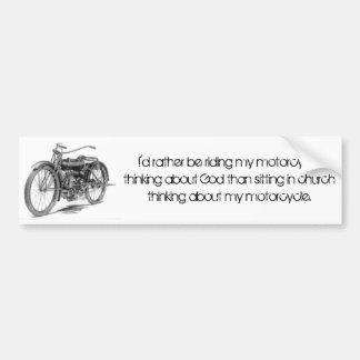 1918 motos vintages autocollant de voiture
