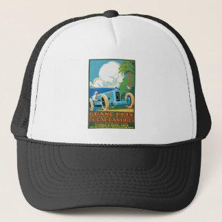 1929 casquette D'Antibes Grand prix emballant