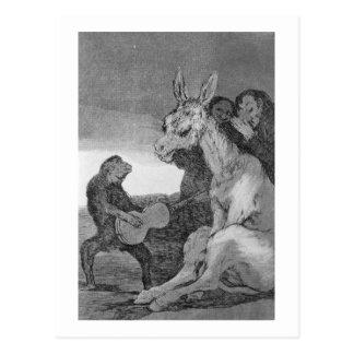193-0082138 bravo ! , une caricature d'evenin carte postale