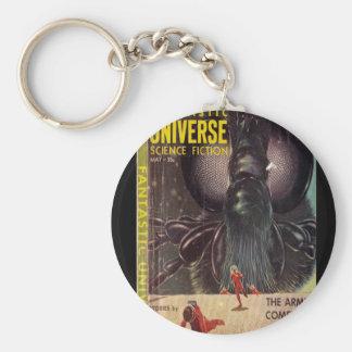 1959-05) arts fantastique de _Pulp de l'univers Porte-clé Rond