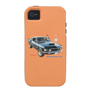 1969_Ford-Mustang Coque iPhone 4
